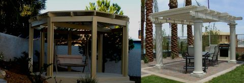 Gazebos, Carports, Decks, Awnings, Shade Panels, Patio Enclosures